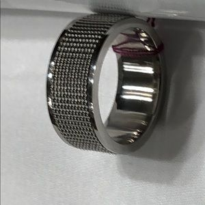 🌺 Stainless Steel Ring Band Quality Size 9
